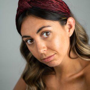 Lila Sangria Turban Headband